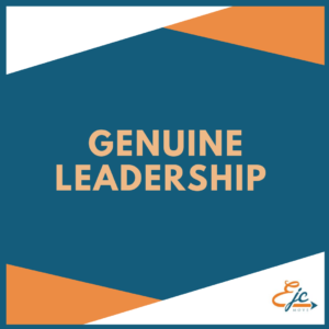 genuine leadership workshop